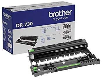 Brother Genuine Drum Unit DR730 Seamless Integration Yields Up to 12,000 Pages Black  Drum unit NOT toner