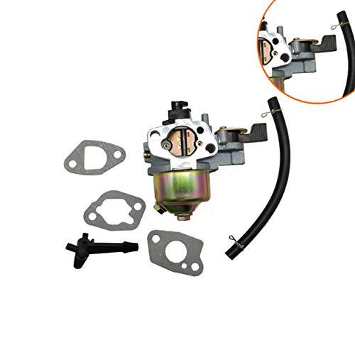 Kongqiabona-UK Juego de carburador recortador de jardinería 2KW-3KW generador para Honda GX160 GX200 168F 170F 5.5HP Aislante de Motor y Junta de 3 Piezas