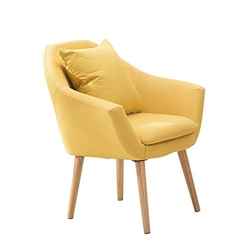 QFFL Tabouret créatif de Balcon/Mini Chaise Moderne/Tabouret Simple de Sofa de Chambre à Coucher (3 Couleurs facultatives) Tabouret d'extérieur (Couleur : Le Jaune)
