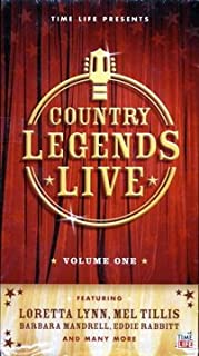 Country Legends Live; Volume 1