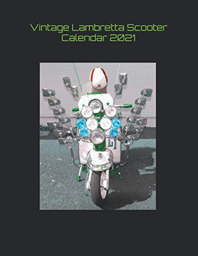 Vintage Lambretta Scooter Calendar 2021