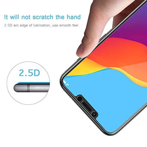 PaceBid [2 Stück] Huawei Honor Play Panzerglas Schutzfolie, Tempered Glass [9H Härte][Anti-Fingerabdruck][Ultra-klar] Panzerglasfolie Displayschutzfolie Für Huawei Honor Play - 4