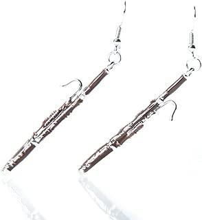 bassoon earrings