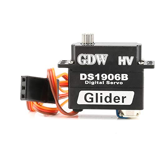 RC Digital Airplane Servo GDW DS1906b 9g Micro Servo Metal Gear for RC Remote Control Glider Quadcopter Hand Helicopter Airplane