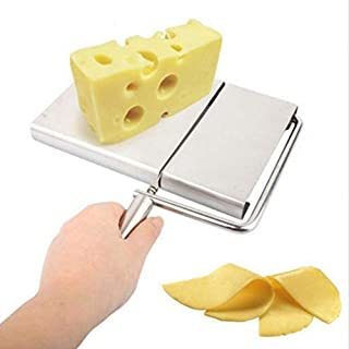 Latosiv - Pastry Cutter - Cheese Slicer Pastry Cutters Butter Cutting Board Wire Making Dessert Blade Durable Baking - Stamp Pattern Copper Plastic Cutting Basic Knife Cutter Divider Dough Tools Kitch