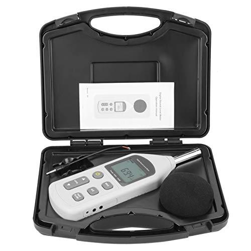 Medidor de decibelios de audio digital LCD Medidor de nivel de sonido Medidor de nivel de ruido Medidor de sonido Medidor de dB Medición de ruido Medición