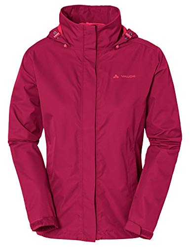 VAUDE Damen Jacke Escape Light, Regene, crimson red, 46, 038959770460