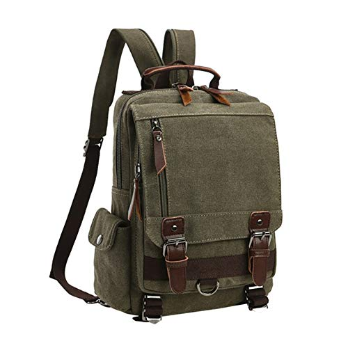 Yi-xir fashion design Outside Backpack Unisex Men And Women Leisure Fashion Travelling Mountaineering Expectant Capacity Travel Chest Bags Lightweight and durable (Color : Army Green, Size : A)