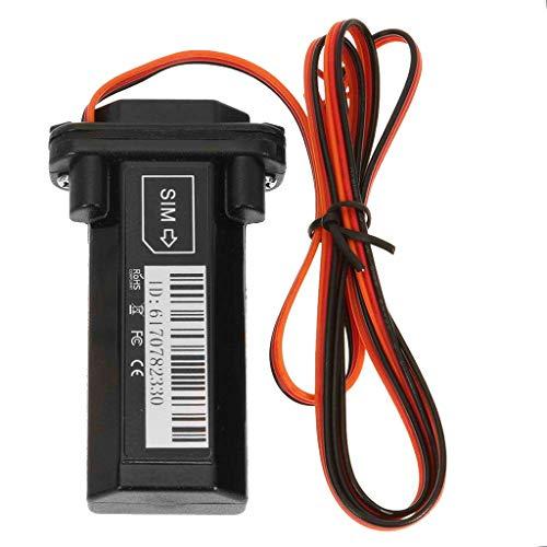B Blesiya Kelima Mini Localizador GPS Vehículo en Tiempo Real Rastreador GPS Coche Antirrobo