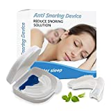 GleeBee Anti Snoring Mouthpiece, Mouth Guard, Snoring Relief, Night Guard, Anti Snore Devices, Snoring Aids for Men and Women, Snore Stopper Mouthpiece for Quiet Nights