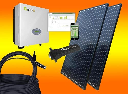 600Watt Balkonkraftwerk OHNE Montagematerial/Solaranlage mit Internetüberwachung von bau-tech Solarenergie GmbH