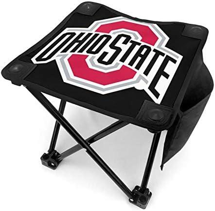 Ohio State Buckeyes Logo TravelChair Slacker Chair Super Compact Folding Quadriga Camping Stool product image
