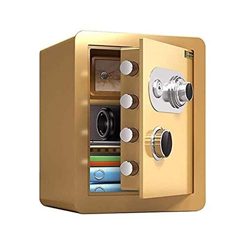 DJDLLZY Gabinete cajas fuertes caja fuerte mecánica, caja de seguridad, acero hogar seguro con cerradura electrónica y Capacidad Digital - La última tecnología electrónico de cierre for la seguridad d