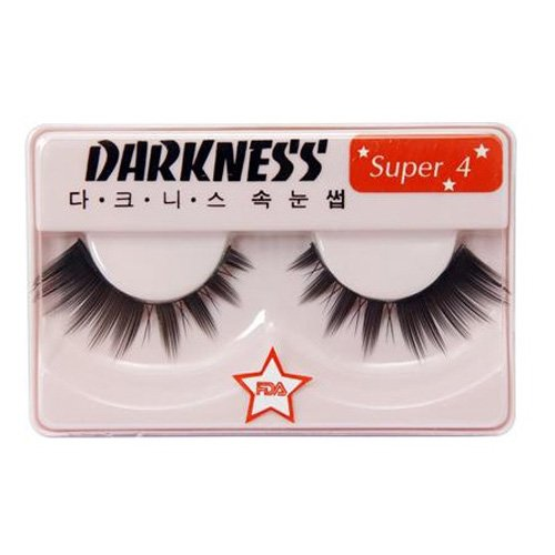 Darkness False Eyelashes Super 4 by False Eyelashes Super 4