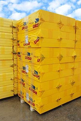 1 Palette (10 Pakete = 30m²) XPS URSA UN III L WLG 036/100 mm frei Haus