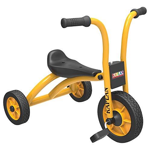 Kaplan Toddler Pedal Trike - Yellow/Black (Set of 2)
