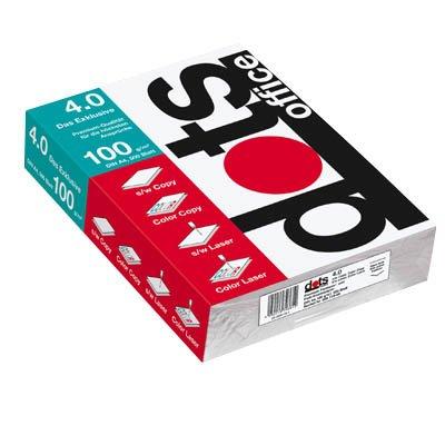 dots Farblaser-Papier office 4.0 DIN A4, 100 g/qm, 5 x 500 Blatt