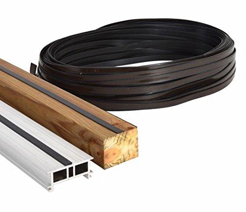 10 lfdm. Sicherungsband/Antirutschband selbstklebend, für Terrassen mit Unterkonstruktionen aus Alu/WPC/Holz
