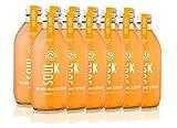 """Soul K Kombucha. Pack 12x33cl Té Kombucha 100% Ecológica """"Chumbo Love"""" Higo Chumbo Bio. Orgánico. Fermentación Natural. Vegano."""