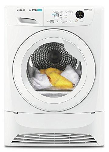 Zoppas PTH83300V Libera installazione Carica frontale 8kg A+ Bianco asciugatrice