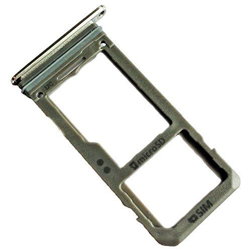 Samsung Galaxy S8 (SM-G950F) Original Ersatz Simkartenhalter und SD Card Tray, Silberfarben