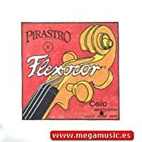 CUERDA VIOLONCELLO - Pirastro (Flexocor 336420) (Tungsteno/Plata) 4ェ Medium Cello 4/4 (Do) C