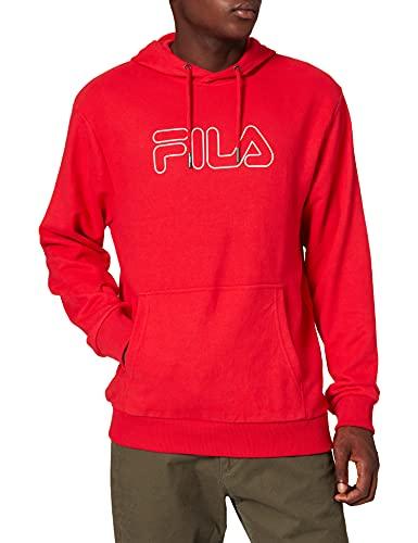 Fila 687125−6 Sudadera con Capucha, Rojo, XL para Hombre