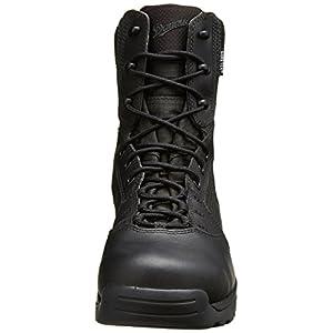"""Danner Men's Kinetic 8"""" GTX Uniform Boot, Black, 12 EE US"""