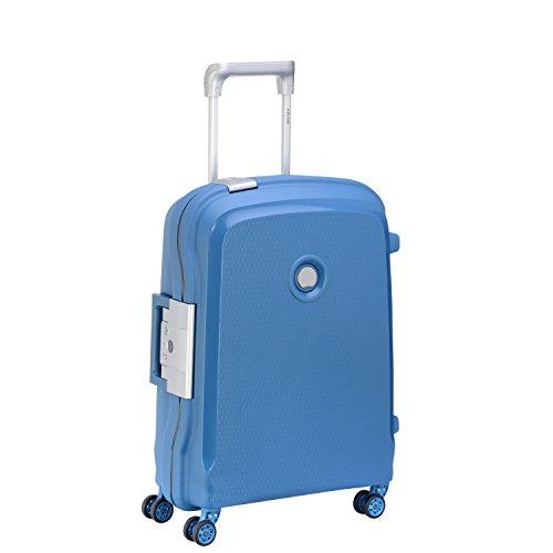 Delsey Paris Belfort Plus Maleta, Azul (Bleu Cyan), 55 cm / 44...