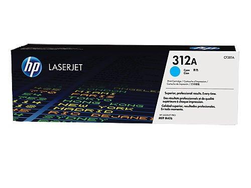 HP 312A (CF381A) Blau Original Toner für HP Color Laserjet Pro MFP M476