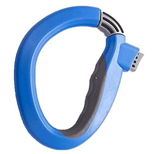 rongweiwang Entspannt Lebensmittel Tragegriff D-Typ hängenden Ring Tragegriff Tasche hängen Einkaufstasche Hebewerkzeug Solid Color