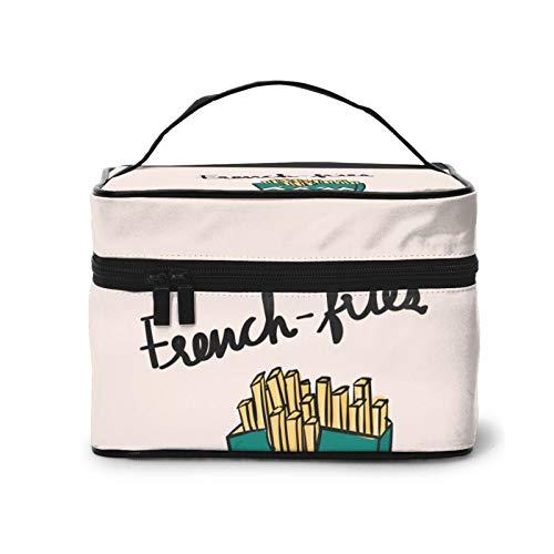Borsa cosmetica per patatine fritte, borsa per trucco, borsa...