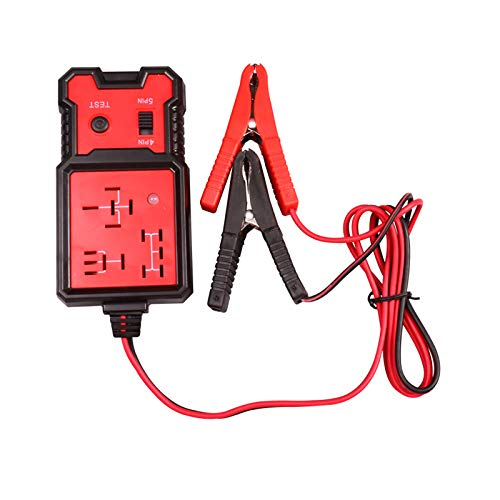 12V Electronic Automotive Relay Tester Diagnostic Car Battery Checker Universal Test and Measurement Tools
