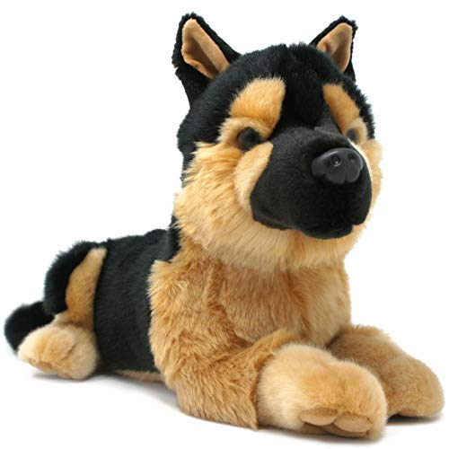 Gretchen The German Shepherd   12 Inch Stuffed Animal Plush Dog   by Tiger Tale Toys