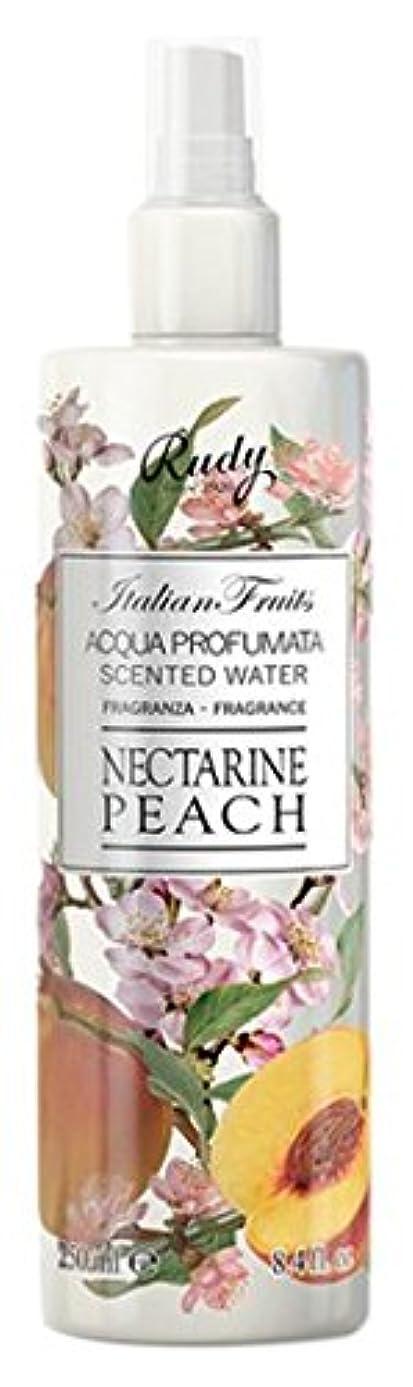 規則性慈悲理想的にはRUDY Italian Fruits Series ルディ イタリアンフルーツ Body Mist ボディミスト Nectarine Peach