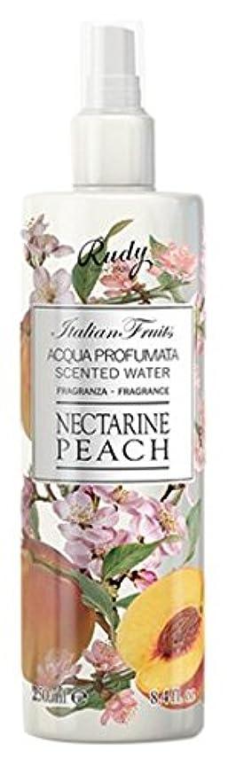 化石工場引くRUDY Italian Fruits Series ルディ イタリアンフルーツ Body Mist ボディミスト Nectarine Peach