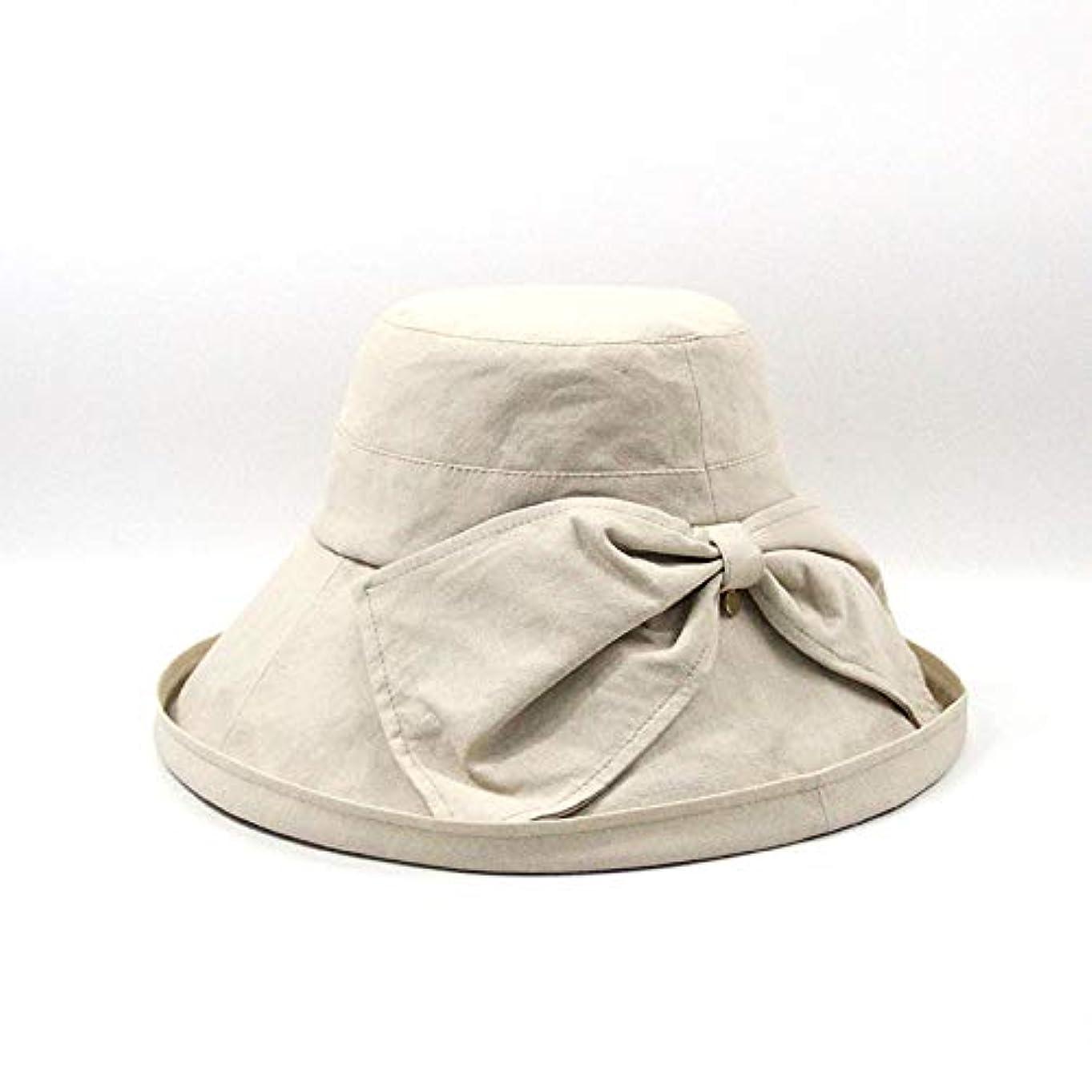 のヒープ交換きらめく旅行ガーデニングボートのための広いつばのバケツの帽子、ちょう結び折り畳み式のクラシックなデザインと綿の太陽の帽子、