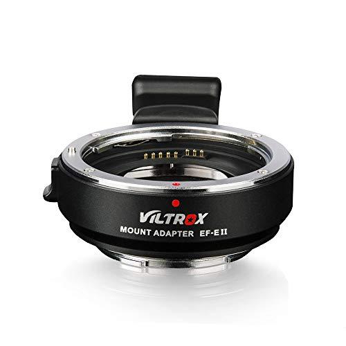 Andoer Viltrox EF-E II Objektiv Lens Mount AF Autofokus Adapter Reduzierer Booster-Adapter für Canon EF Objektiv Auf Sony E-Mount-Kamera