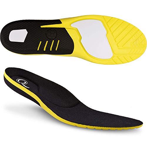smart&gentle Einlegesohlen Gel für Sport- & Arbeitsschuhe - Schuh Einlegesohlen für Sport Schuhe Größe: 41-44,5 - Gelsohlen Schuheinlagen