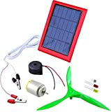 Kit4Curious Nasa Tech 3 in 1 Solar Energy Conversion for Educational Learning Kit (Multicolor)