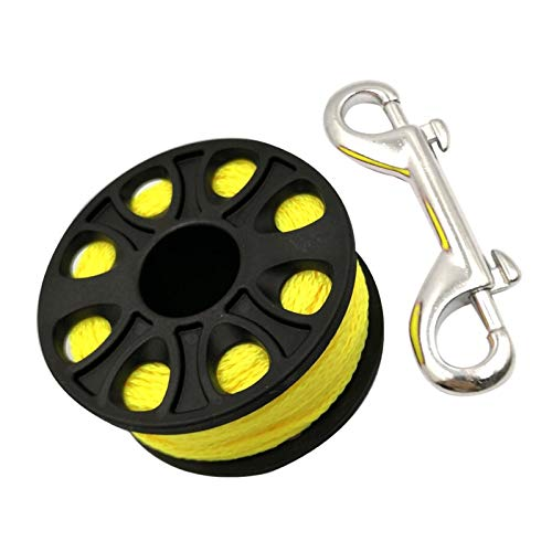 Tako Tauchen Aluminiumlegierung Spool Finger Reel (Color : Yellow)