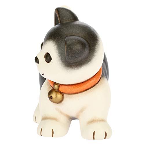 THUN - Soprammobile Gatto Europeo - Accessori per la Casa - Linea Cani e Gatti - Formato Medio - Ceramica - 15,58 x 6,46 x 10,92 h cm
