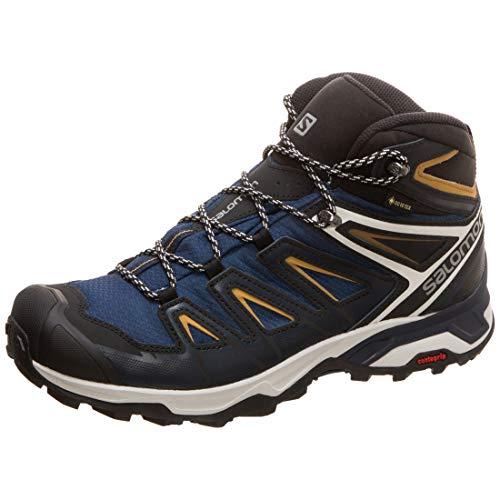 Salomon 408141_41 1/3, Chaussures de Course Homme, Navy