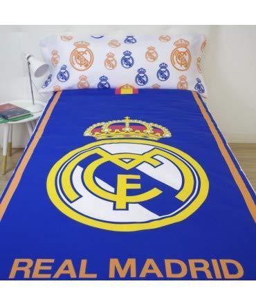 10XDIEZ Funda nórdica Real Madrid 186004 - Medidas Cama - Cama de 90cm