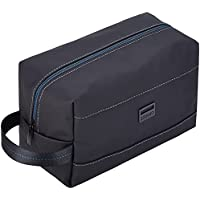 ZEEMO Water-resistant Toiletry Bag with Multi-pocket (Black)