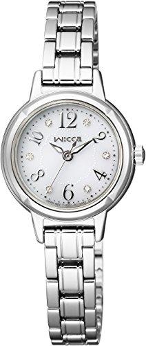 [シチズン]CITIZEN 腕時計 wicca ウィッカ ソーラーテック スワロフスキー入りモデル KH9-914-15 レディース