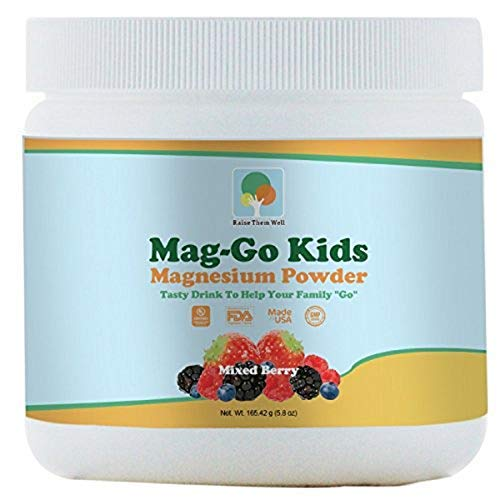 Kids Constipation Relief (Mixed Berry) - Kid Safe Magnesium Constipation Relief