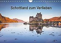 Schottland zum Verlieben (Wandkalender 2022 DIN A4 quer): Abwechslungsreiche Landschaften und vielfaeltige Zeugnisse einer langen Geschichte praegen das Bild Schottlands. (Monatskalender, 14 Seiten )