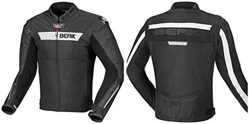 Berik Thruxton - Chaqueta de piel para motocicleta