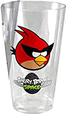 Angry Birds Space Bird Tumbler, 23-Ounce, Red